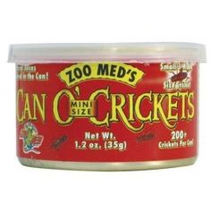 Small sized crickets.