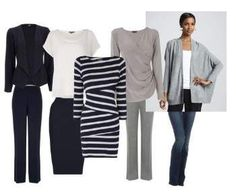 Capsule Work Wardrobe - 9 garments = 1 months effortless dressing! #capsuleworkwardrobe http://www.style-yourself-confident.com/capsule-work-wardrobe.html