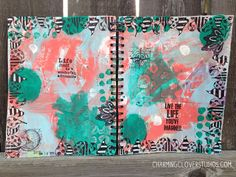 The Gypsy Owl Art Co.: Imagined - an Art Journal Page