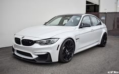 This particular Mineral White BMW come with what seems the entire M Performance Parts catalog Bmw M4 White, Bmw M6 Convertible, E60 Bmw, Bmw M Series, White Bmw 3 Series, Bmw M3 Sedan, Bmw Car Models, Bmw 7, Sport Cars