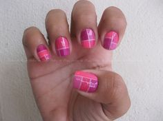 Tape mani super rosa!