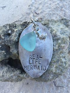 real life mermaid {necklace}