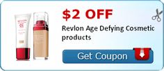 $2.00 off Revlon Age Defying Cosmetic products