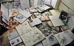 Sketchbooks & Notepads Open | da David Firth