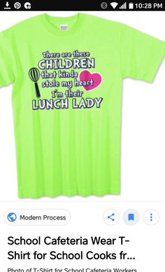 School Cafeteria Decorations, Cafeteria Food, School Shirts, Work Shirts, School Lunchroom, Ladies Lunch, Whats For Lunch, School Fun, School Ideas