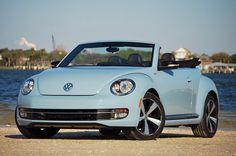 Volkswagen Beetle Convertible...light blue...yeeeeeeeeeeeeeeeeeessssssss!! ;0))))