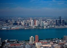 View of Detroit from Windsor, Ontario