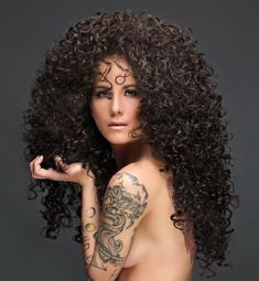 Permed Hairstyles, Cool Hairstyles, Short Curly Hair, Curly Hair Styles, Big Curls, Beautiful Long Hair, Stunningly Beautiful, Hair Brained, Bad Hair