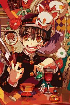 Credit to artist, the people who pinned this, and Nene-chan! I love this anime a. - My Manga Otaku Anime, Manga Anime, Tv Anime, Anime Art, Cute Anime Wallpaper, Iphone Wallpaper, Anime Shop, Hanako San, Animes Wallpapers