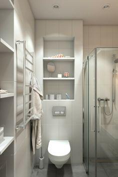 déco de studio : idée de toilettes et salle de bain petit espace