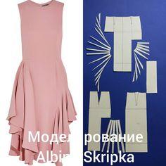 """Вот такое платье мы разбирали с моими студентами на курсе """" Конструирование и Моделирование"""". . Это платье от Alexander McQeen. Посмотрите какое интересное! Листайте фото и Вы увидите больше фотографий Пишите комментарии, ставьте лайки, если материал был для Вас полезен и интересен."""