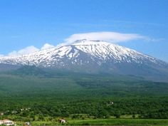 Aitna of the Ourea [The volcano of Sikelia (Sicily in Italy)]