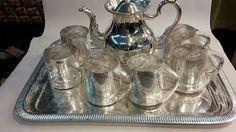 Beautiful Metal Tea-Pots with Hand Made designs by skilled artisans of Moradabad @Golden Tips Store - Darjeeling