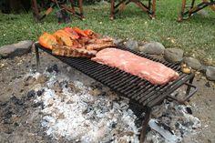 DIY Outdoor Fire Pit Grill | FIREPLACE DESIGN IDEAS