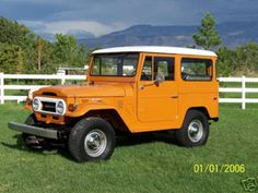 1973 land cruiser. Mine was a 76. Awesome