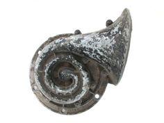 Antique Car Horn Sparton Metal Horn Vintage Automobile by ElmPlace,