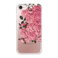 Feel It All + Antique Florals + III - iPhone 7 Case And Cover (115 PEN) ❤ liked on Polyvore featuring accessories, tech accessories, iphone case, slim iphone case, iphone cases, iphone cover case, apple iphone case and floral iphone case