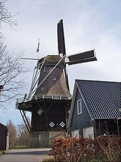 Flour mill Penninga's Molen, Joure, The Netherlands
