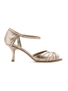 SARAH CHOFAKIAN kitten heel sandals, 30% off $363 (was $519)