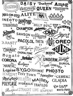 From The Trade Mark News. Published 1910-13.