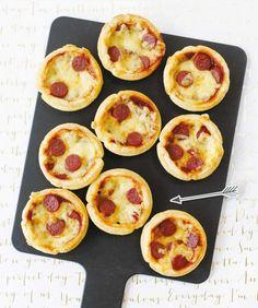 Mini-Pizzen Rezept - [ESSEN UND TRINKEN]