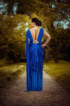 Wonder Woman Blue Dress Cosplay from Arwenia Cosplay / Gal Gadot / God Killer