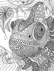 Zentangle Animal Coloring Pages For Adults