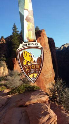 Race Recap: Zion Canyon Half Marathon - Runs and Places