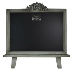 """Distressed Wood Framed Table Top Chalkboard Sign 21.5""""x19"""" (Shabby Green) Home Office Collection,http://www.amazon.com/dp/B00J29D7TG/ref=cm_sw_r_pi_dp_yyMxtb09771N74NQ"""