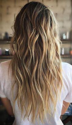 sunkissed bronde (Beauty Hairstyles Beach Waves)