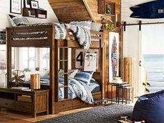 Acquire wonderful pointers on bunk beds for kids. Acquire wonderful pointers on bunk beds for kids. They are actually available Çocuk Odası Childrens Bunk Beds, Kids Bunk Beds, Boys Bedroom Furniture, Bedroom Decor, Bedroom Ideas, Tie Dye Bedroom, Pouf Bleu, Mens Room Decor, Bunk Bed Designs