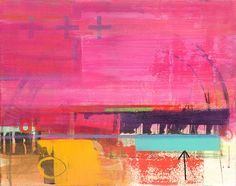Impresión del arte abstracto, colores brillantes, pintura abstracta, arte contemporáneo de JennyGrayArt en Etsy https://www.etsy.com/es/listing/196964816/impresion-del-arte-abstracto-colores