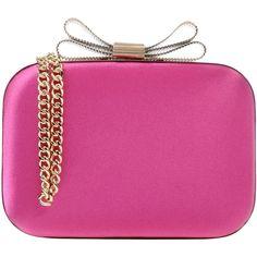 Chiara P Handbag (190 AUD) ❤ liked on Polyvore featuring bags, handbags, borse, fuchsia, fuschia pink handbag, fuschia handbags, handbag purse, purse bag and pink metallic handbag