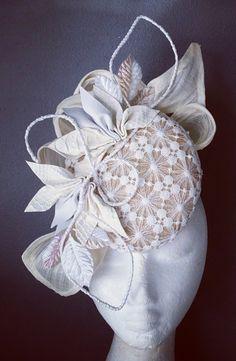 Locopa Design 2015 Millinery Hats, Fascinator Hats, Fascinators, Bridal Hat, Crazy Hats, Races Fashion, Kentucky Derby Hats, Cocktail Hat, Fancy Hats