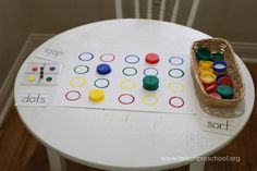 This dot game is simple to make and fun to play! | Teach Preschool | Bloglovin'