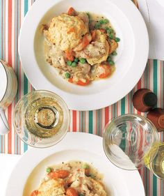 Slow-Cooker Creamy Chicken With Biscuits | RealSimple.com