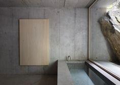 """subtilitas: """" Nickisch Sano Walder - Lieptgas refuge, Flims Via, photos © Gaudenz Danuser. Minimalist Architecture, Minimalist Design, Interior Architecture, Modern Cafe, Sweet Home, Minimalist Furniture, Minimalist Bathroom, House Built, Modern Bathroom Design"""