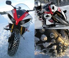 #Yamaha R1 ice-racing