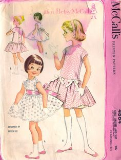 M4864 Betsy McCall fashions by Helen Lee, late 50s
