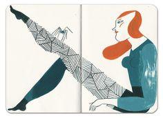 Spider-woman, via Flickr.Malota