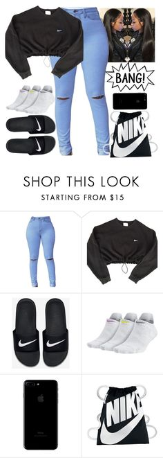 """""""Untitled #152"""" by issaxmonea ❤ liked on Polyvore featuring NIKE"""