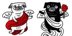 Gemma Correll makes the cutest damn Pug drawings!
