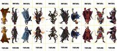 Fantasy Monsters Sheet 156