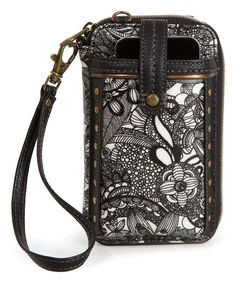 cc30666927e1fd Take a look at this Black & White Spirit Desert Smartphone Wristlet today!