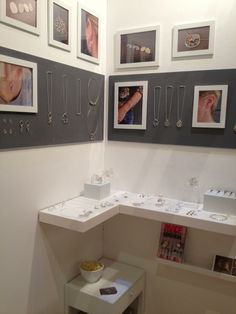 Frames and shelf -Emma Leonard at MADE Brighton 2013