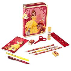 Belle Zip-Up Stationery Kit | Disney Store