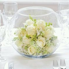 Ideas Wedding Elegant Decoration Event Design Floral Arrangements For 2019 Design Floral, Deco Floral, Flower Decorations, Wedding Decorations, Table Decorations, Table Arrangements, Floral Arrangements, Fish Bowl Vases, Wedding Bouquets