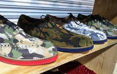 CAMO COOL_Del Toro Camo Wing Tip Brogue Shoes