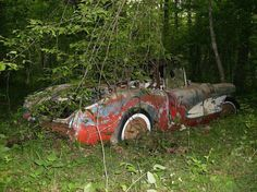 a very sad corvette