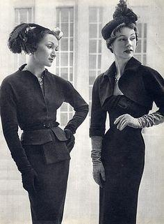 Cristóbal Balenciaga 1949 Suit